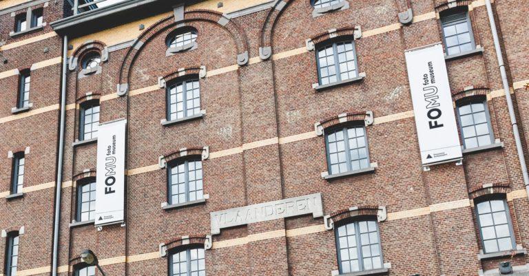 Rebranding van het Antwerpse Fotomuseum FOMU.