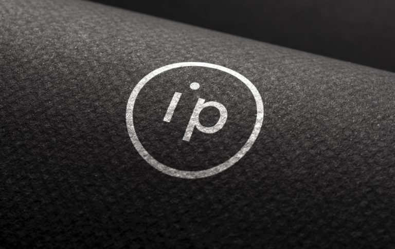 Interpoint's brandmark logo print mock-up.