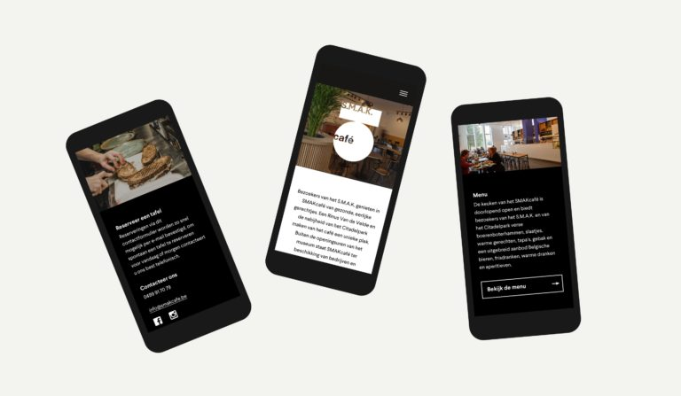 responsive website, mobiele website, website die werkt op iPhone, webbureau Antwerpen, webdesign Antwerpen