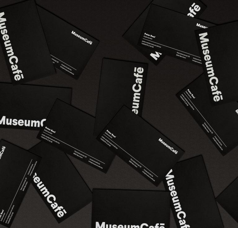 MuseumCafé: Branding, Huisstijl, Visual Identity, Website