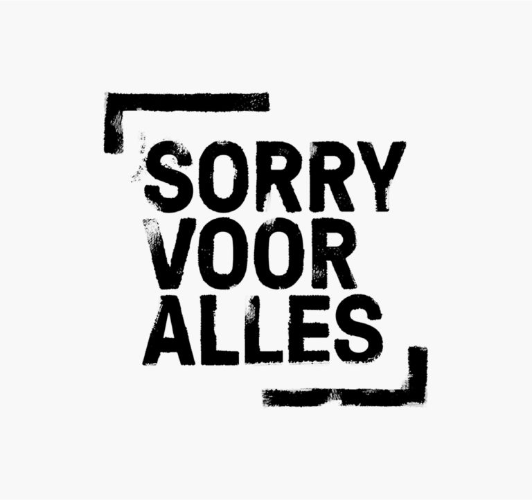 Sorry Voor Alles: Visual Identity