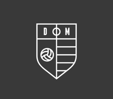 Brandmark for Dag Moeder's football-related content and products.