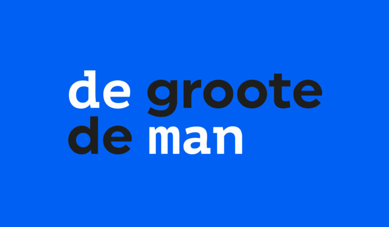 De Groote De Man: Rebranding, Visual Identity, Website