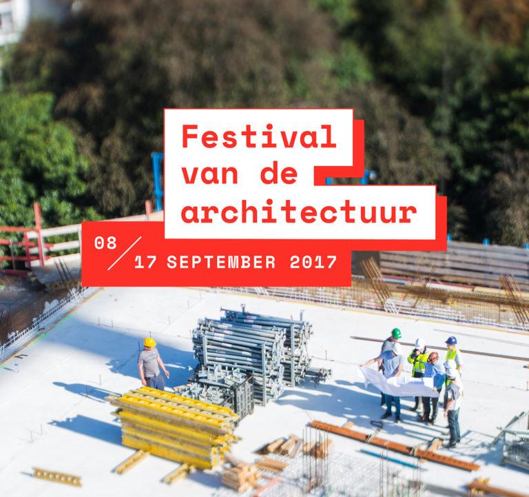 Festival van de Architectuur: Branding, Website, Campagne