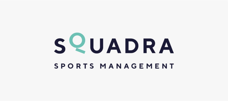 Squadra logo branding website grafisch ontwerp sport management