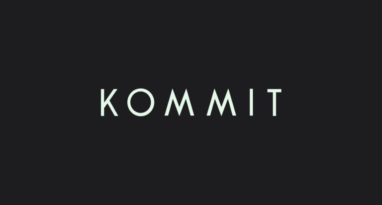 Kommit adventure logo identity identiteit branding grafisch ontwerp antwerpen online