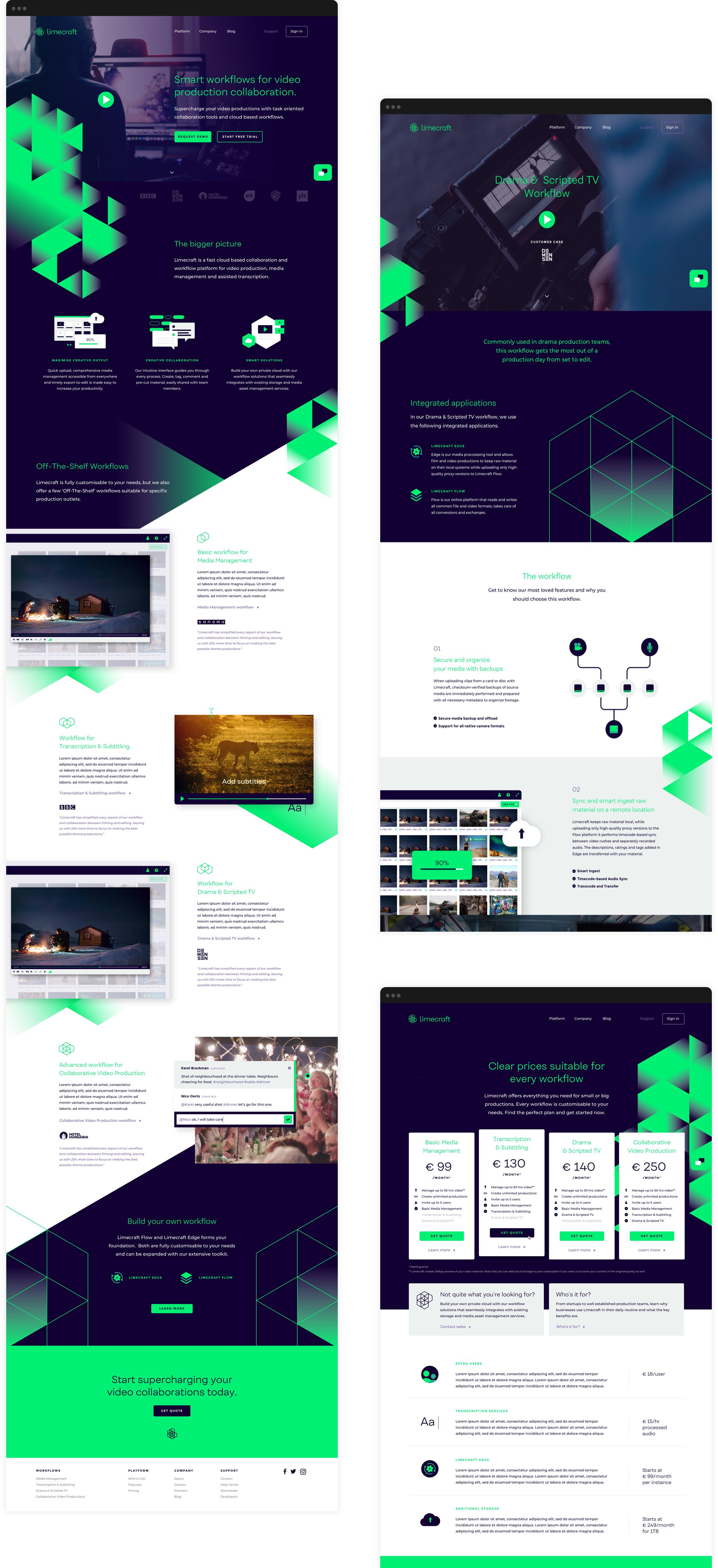 Branding website identity identiteit grafisch ontwerp antwerpen