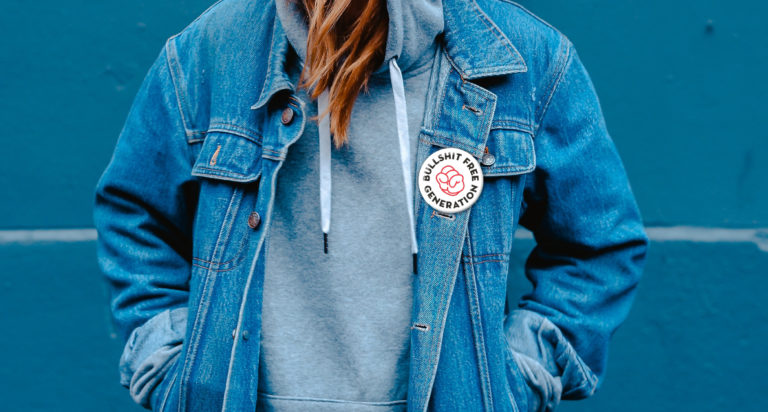 Gezond leven, Bullshit Free Generetion, Branding, grafisch ontwerp antwerpen, campagne, website, slogan