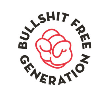 Gezond leven, Bullshit Free Generetion, Branding, grafisch ontwerp antwerpen, campagne, website, slogan, logo