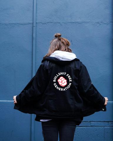 Gezond leven, Bullshit Free Generetion, Branding, grafisch ontwerp antwerpen, campagne, website, slogan, fashion