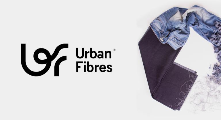 Urban Fibres, circulaire economie, circular economy, recycle, denim, jeans, identity, logo, website, one pager, branding, antwerp, antwerpen