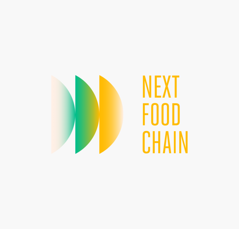 Next Food Chain: Branding, Illustratie