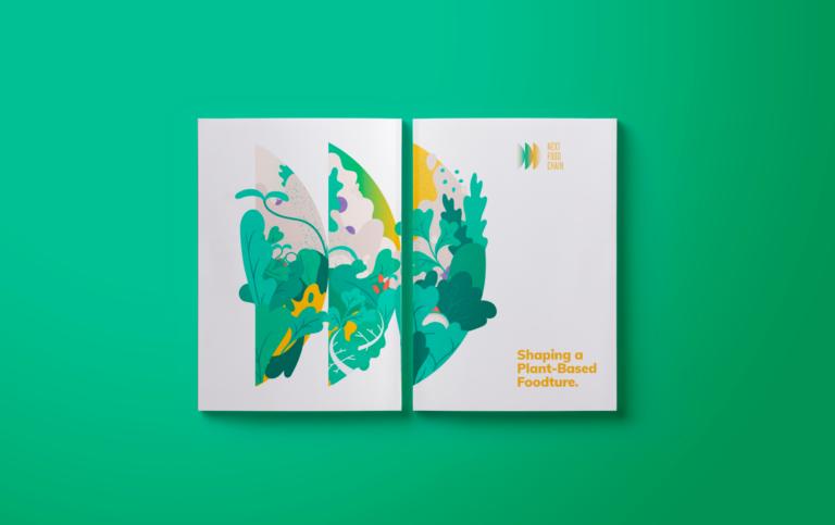 Next Food Chain, circulaire economie, illustratie, branding, grafisch ontwerp, Antwerp, Antwerpen, Branding agency, Bond Beter Leefmilieu