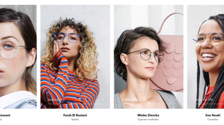 Binoche, eyewear, website, webdesign, glasses, online, front end