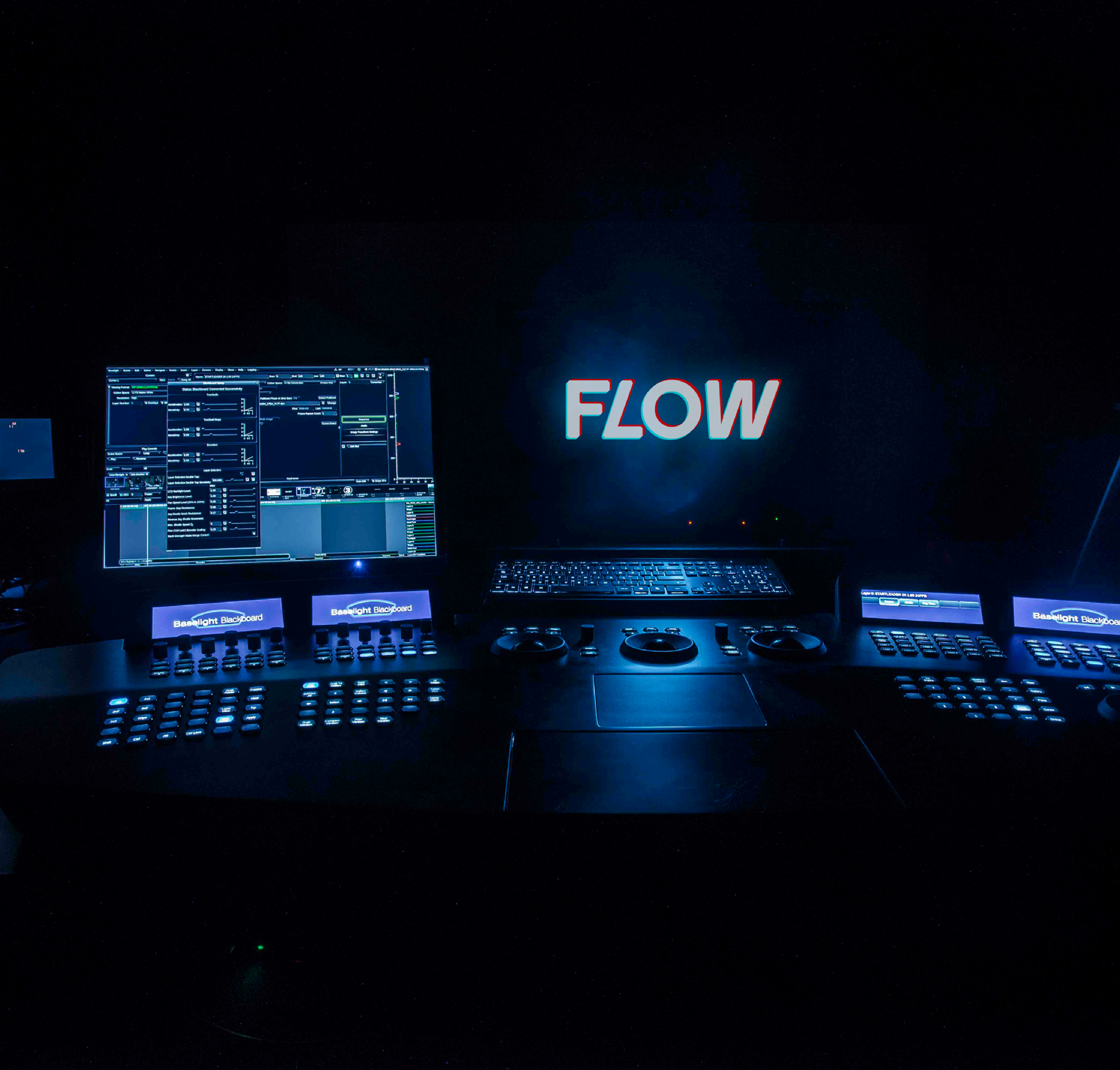 Flow Postproduction: Rebranding, Website