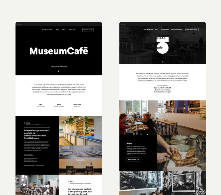 website voor restaurant, website voor café, copywriting, web writer, baseline, logo ontwerp, one page website, tablebooker