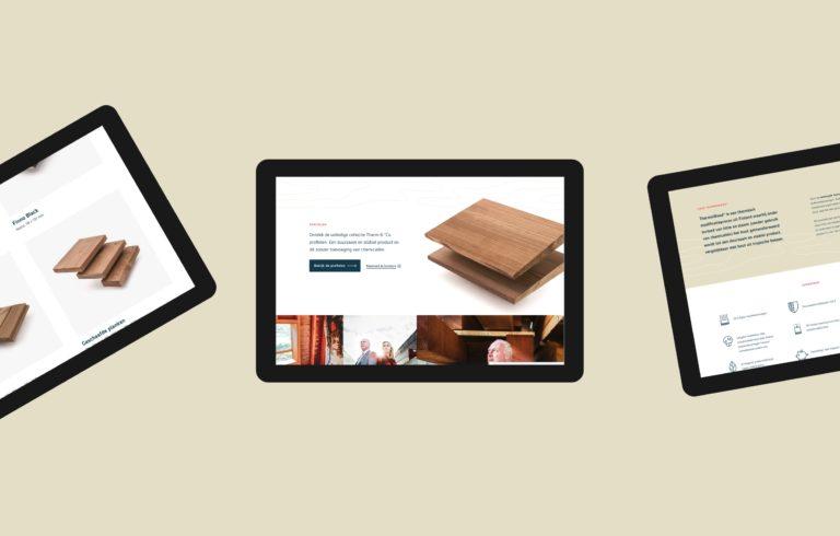 Therm en Co's responsive corporate website.
