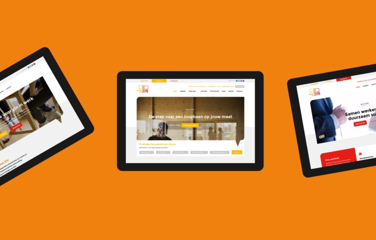 Werk Met ZIn's responsive website works perfectly on laptop computers, Ipads and other tablets.