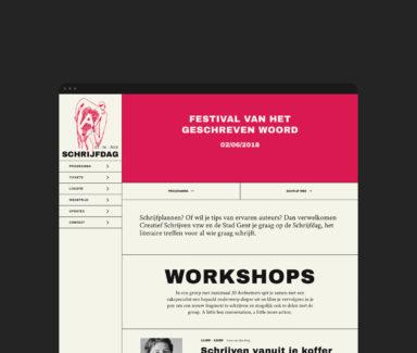 website grafisch bureau antwerpen creatief schrijven schrijfdag webontwerp