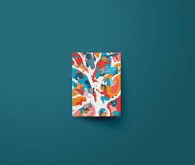 vormgeving jongerengids, jongerengids ontwerpen, illustratie cover, boekontwerp Antwerpen, grafische vormgeving Antwerpen, grafisch bureau antwerpen
