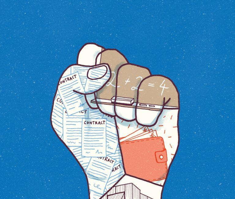 Magazine cover illustration, magazine cover, magazine design, Antwerpen.