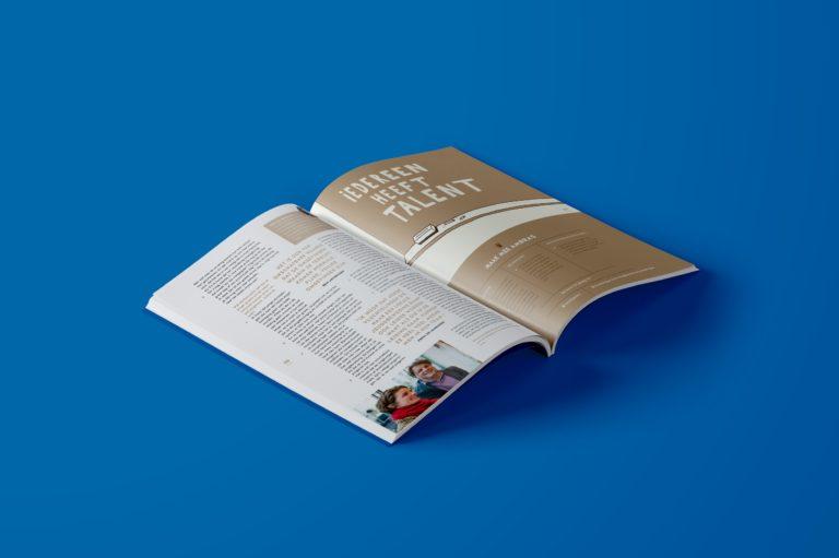 Magazine design, magazine lay-out, typography, Antwerpen.
