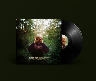Album cover design for Black Box Revelation's My Perception.