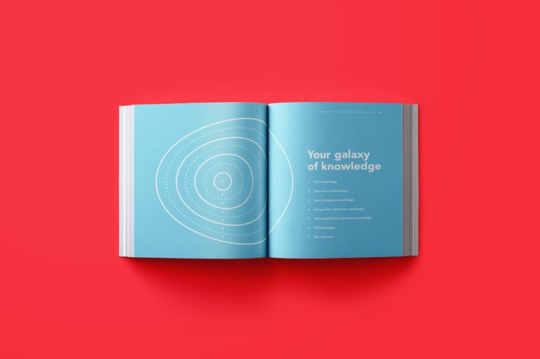 Concept visualisation, book design, book lay-out, typography.