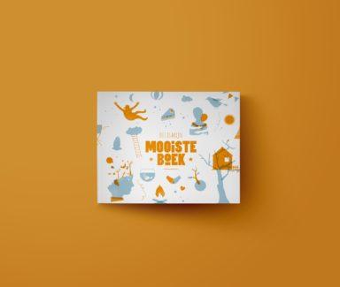 Cover design, children's book, book design Antwerp.