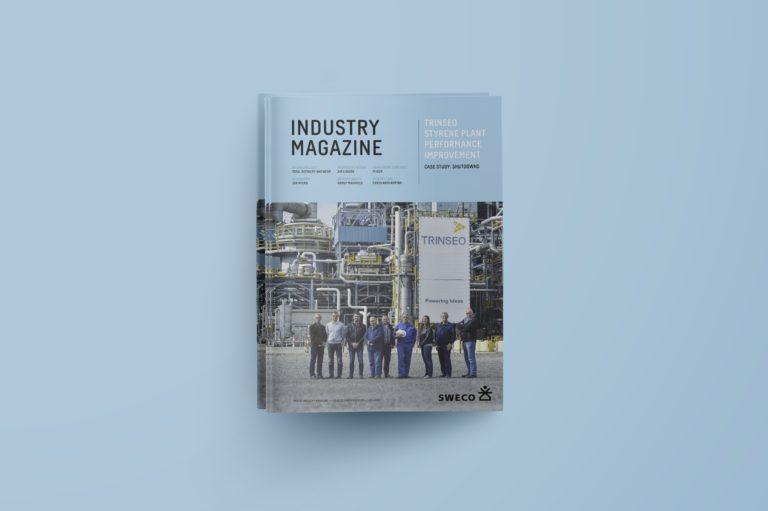 magazine ontwerpen, industrieel magazine ontwerpen, magazine lay-out, ontwerpbureau drukwerk Antwerpen, data-visualisatie, huisstijl voor magazine Antwerpen, typografie magazine , DTP'ers Antwerpen, DTP magazine Antwerpen