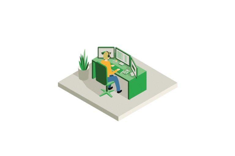 bedrijfsillustratie, verduidelijkende illustratie, illustratie Antwerpen, illustratie werkomgeving, co-working, digitale illustratie, illustraties voor industrieel bedrijf, icoon , iconen ontwerpen, proces illustreren, grarfisch bureau Antwerpen