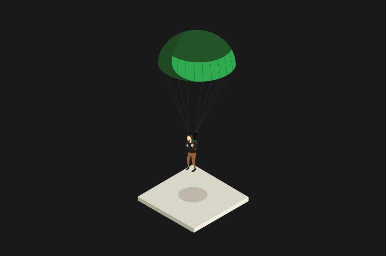 bedrijfsillustratie, verduidelijkende illustratie, illustratie Antwerpen, digitale illustratie, illustraties voor industrieel bedrijf, icoon , iconen ontwerpen, proces illustreren, grarfisch bureau Antwerpen, illustratie parachute