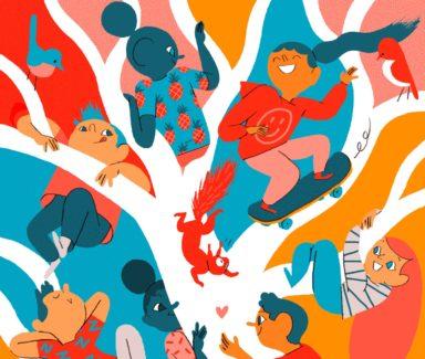 illustratie illustrator antwerpen ambrassade jongeren