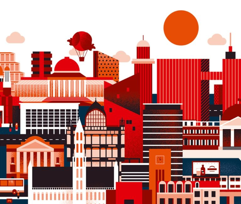coverillustratie, illustratie cover, illustratie voor boek, illustratie studentengids, icon design, icoonontwerp, icoontjes, iconen ontwerpen, pictogrammen, grafisch bureau Antwerpen, pictogrammen ontwerpen