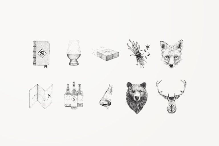 grafisch ontwerp Antwerpen, met de hand getekende illustraties, handgetekende illustratie, stippeling illustratie, illustratie voor website, corporate illustration, grafisch bureau Antwerpen