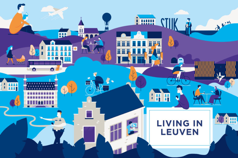 illustratie antwerpen living in leuven we make illustrations