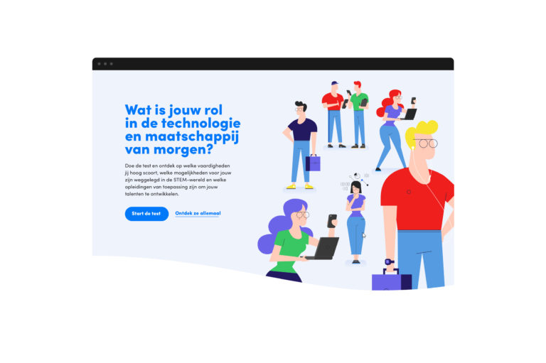 agoria, illustratie, we make, antwerpen, illustratie, IT, character, vector, illustrator, antwerpen